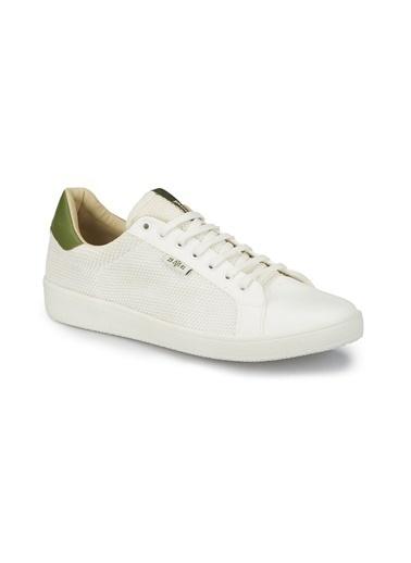 Mavi Sneakers Beyaz